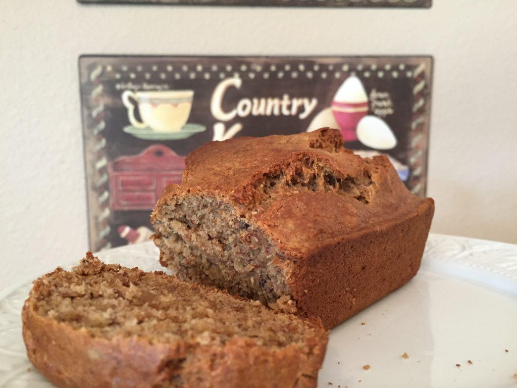 Almond Flax Quick Bread