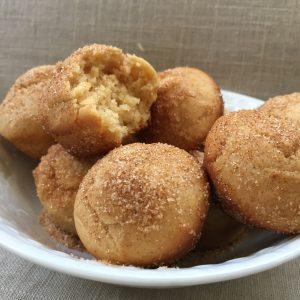 peanut butter donut holes