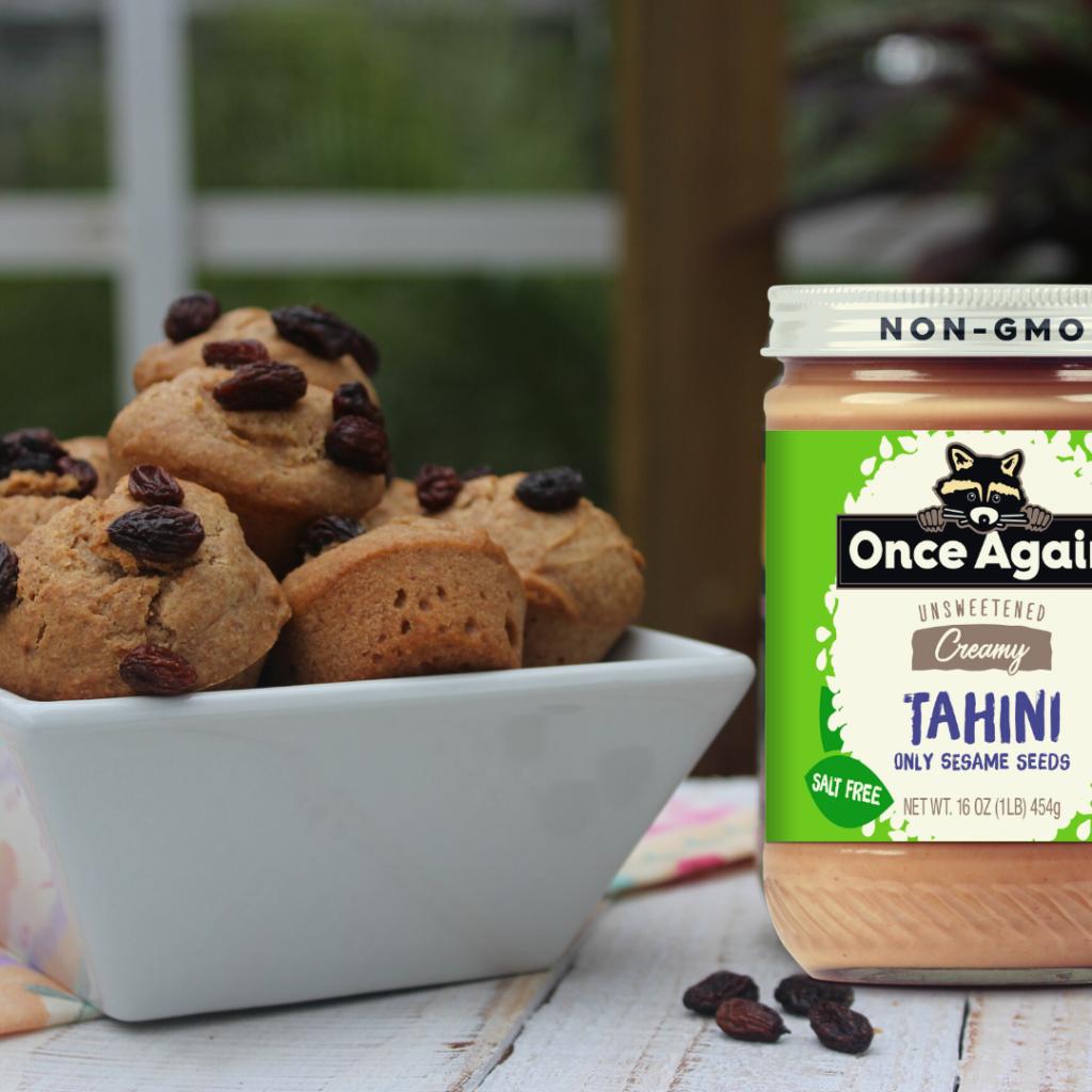Tahini Muffins