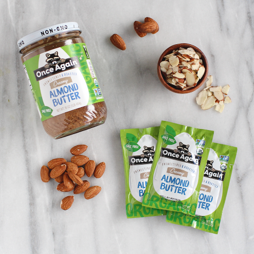 natural Almond Butter Packet