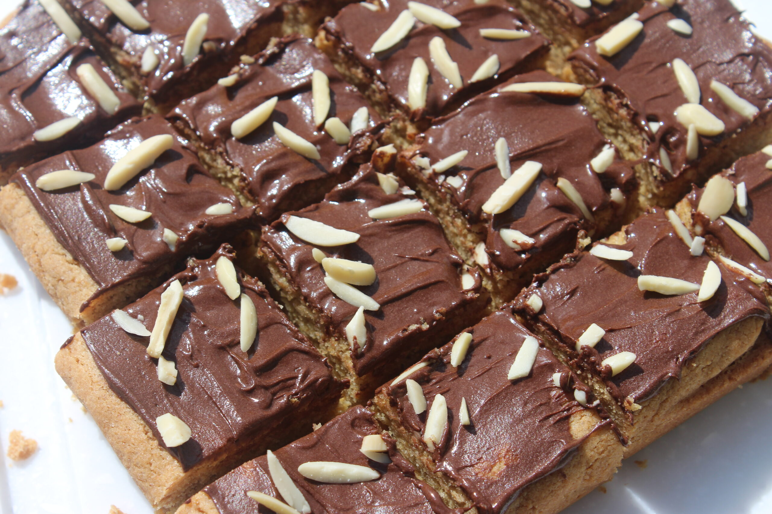 sweet almond bar